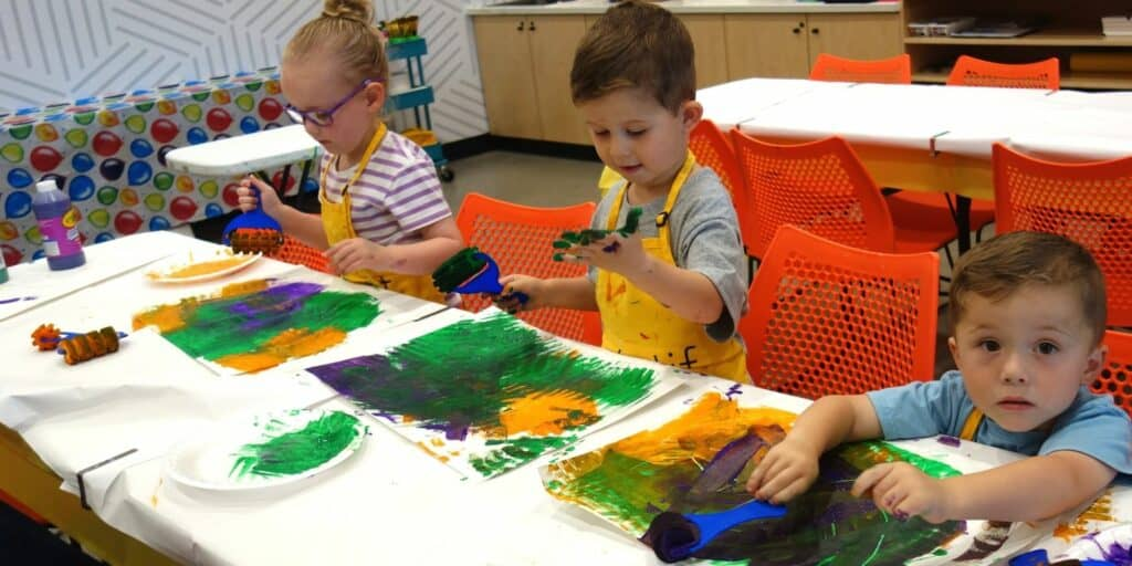 Kids build confidence with Art Pleasanton California