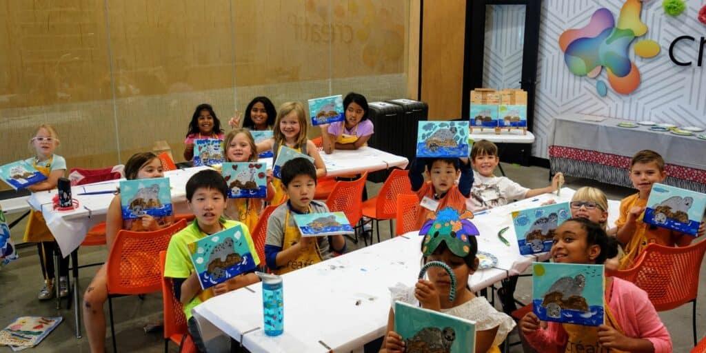 Art camp for Kids Pleasanton California