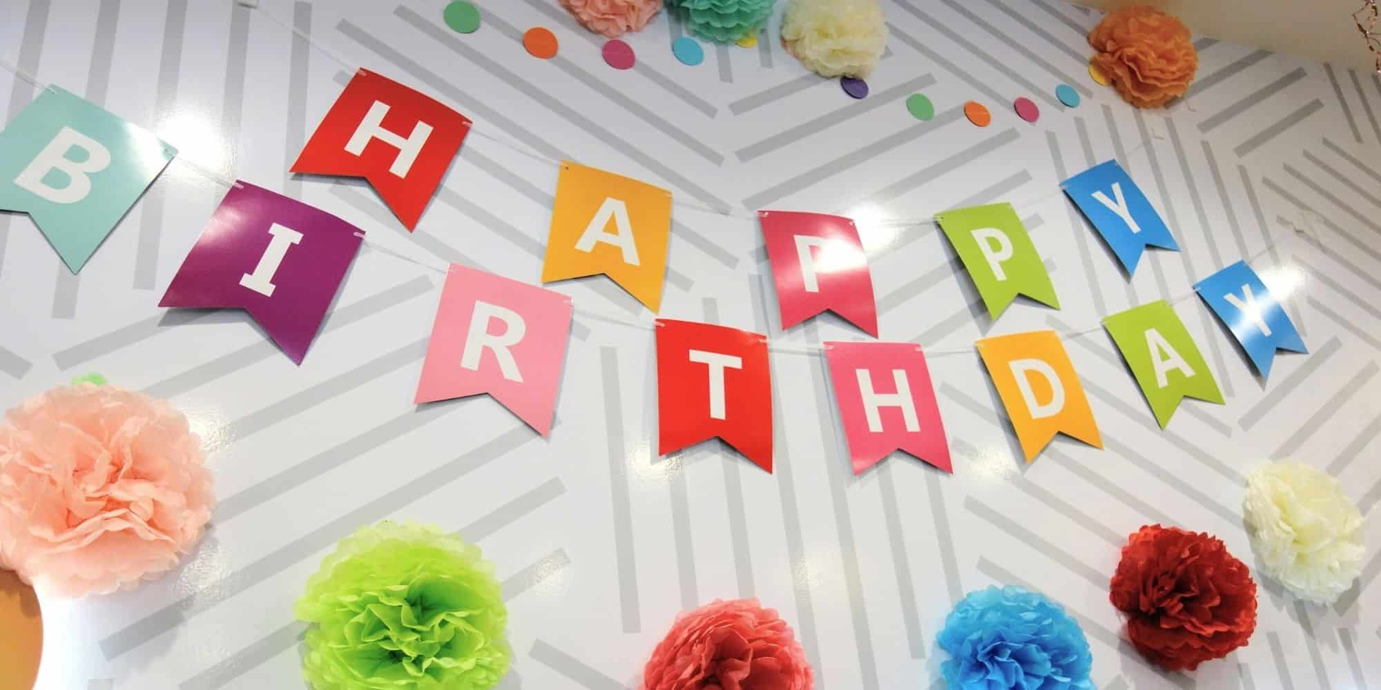Colorful Birthday Party Pleasanton California