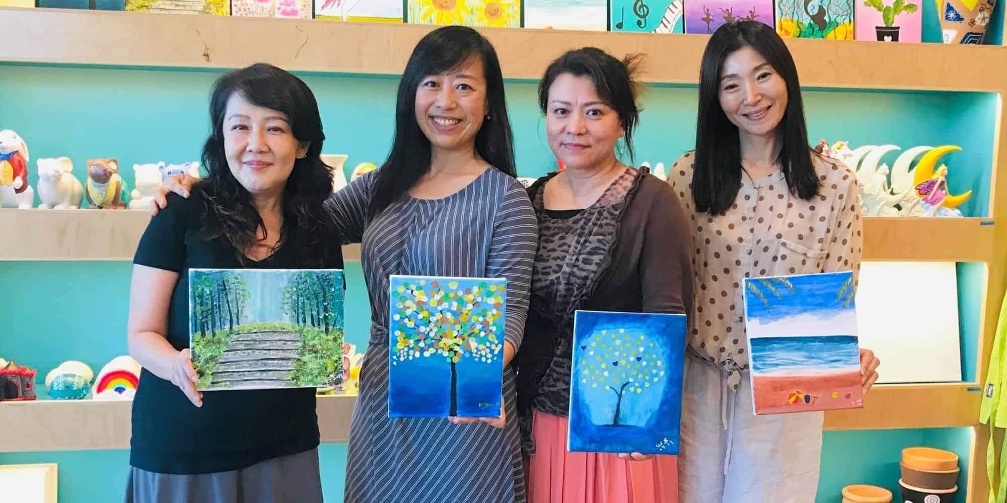 Group Painting Activity Pleasanton California