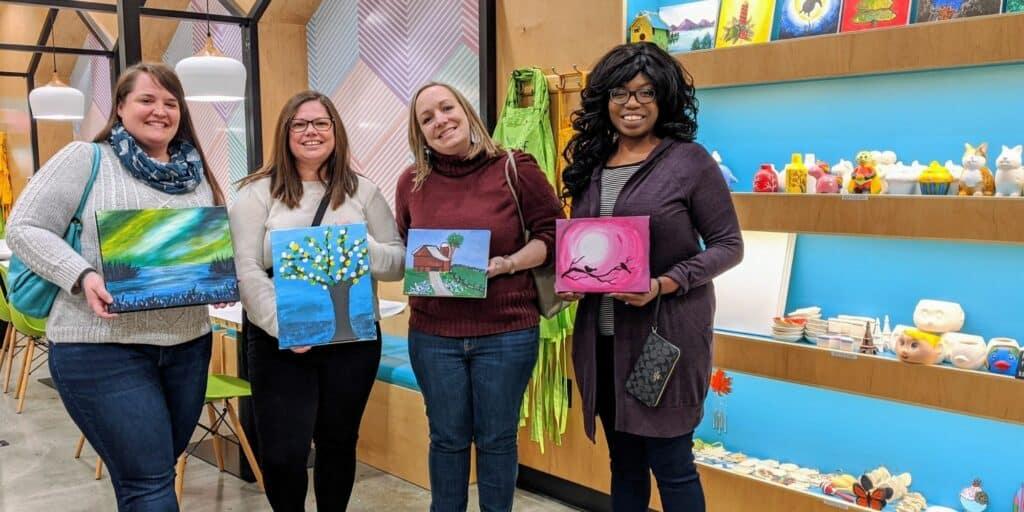 Art Activities for Adults Pleasanton California