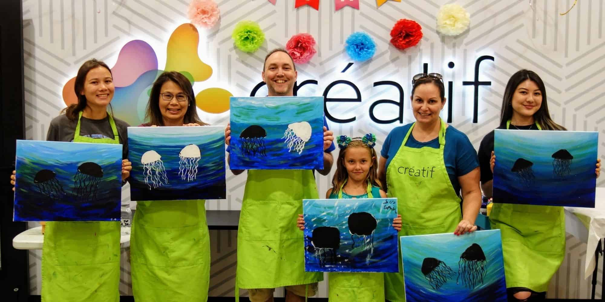 Paint Night with Friends Pleasanton California
