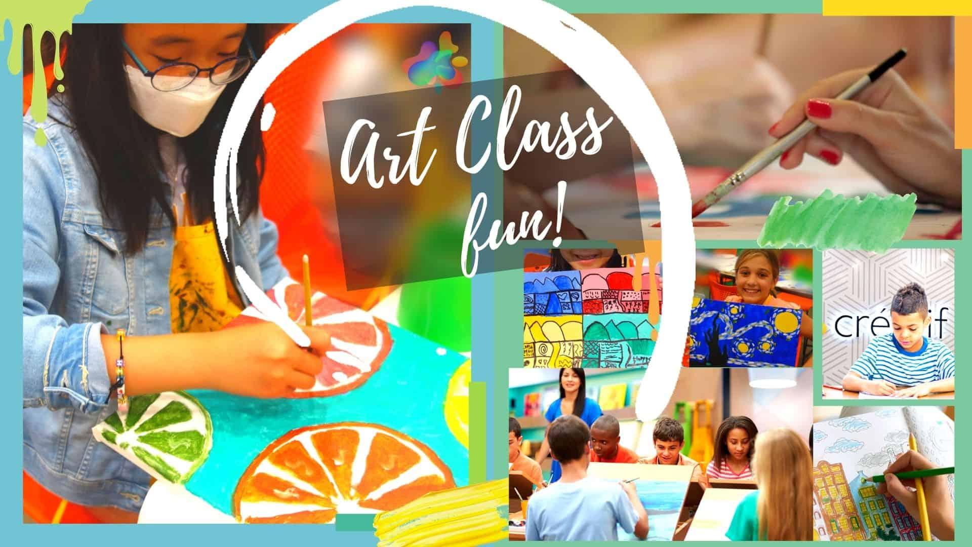 Art Class at Créatif