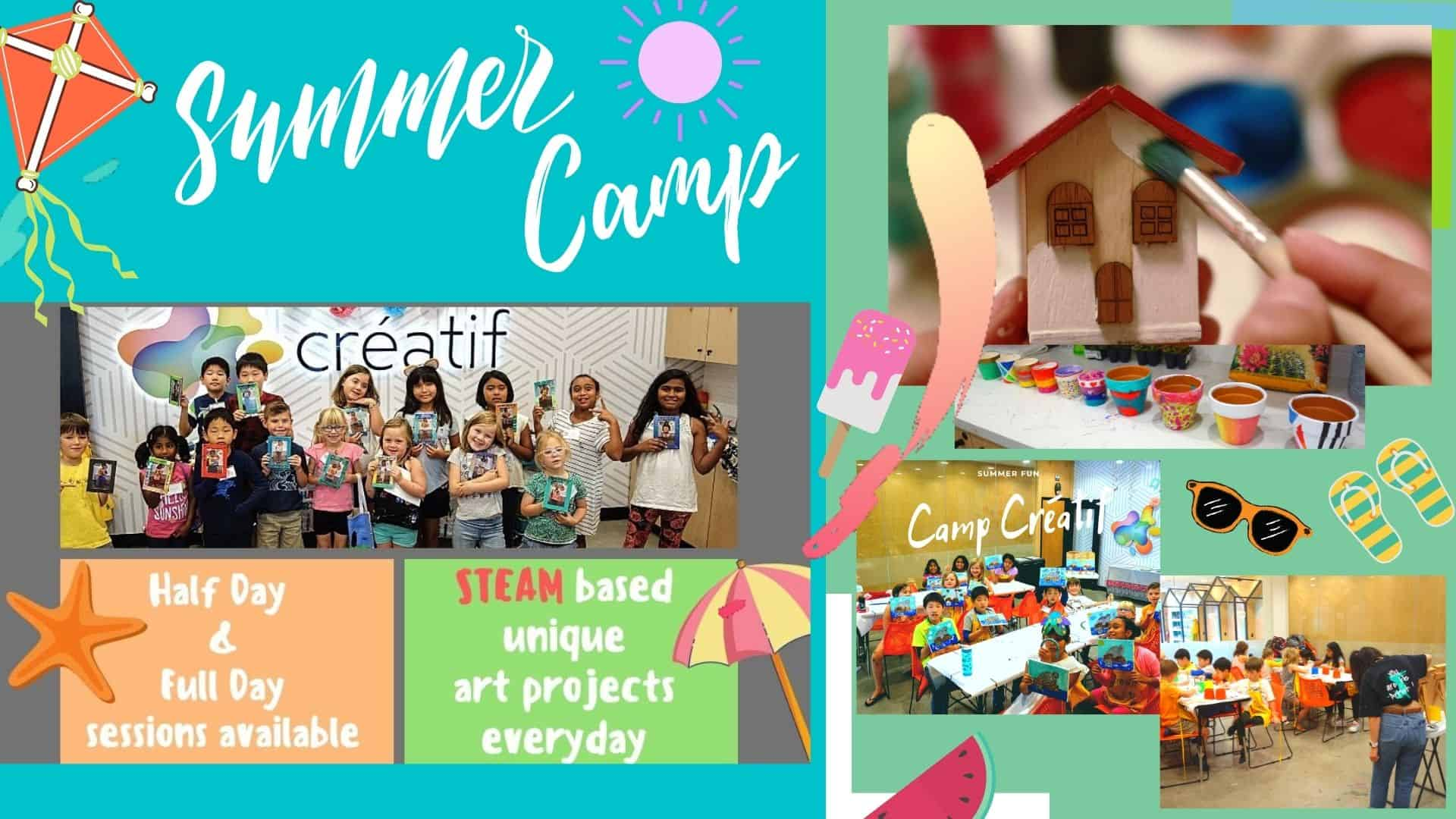 Fun Summer Camp at Créatif