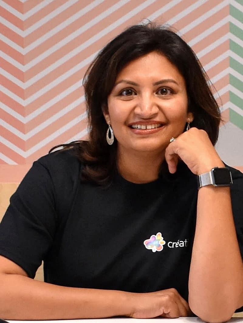 Créatif Founder - Jaya Aiyar