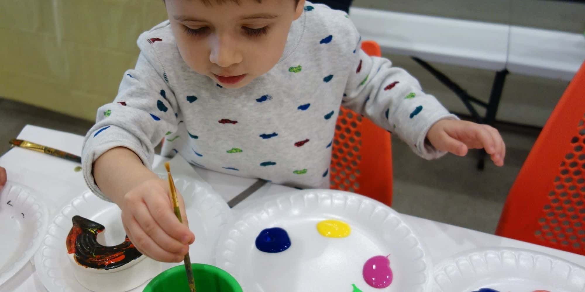 Kids build confidence with Art