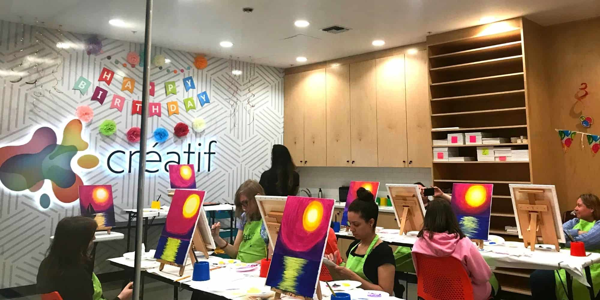 Paint Night Event