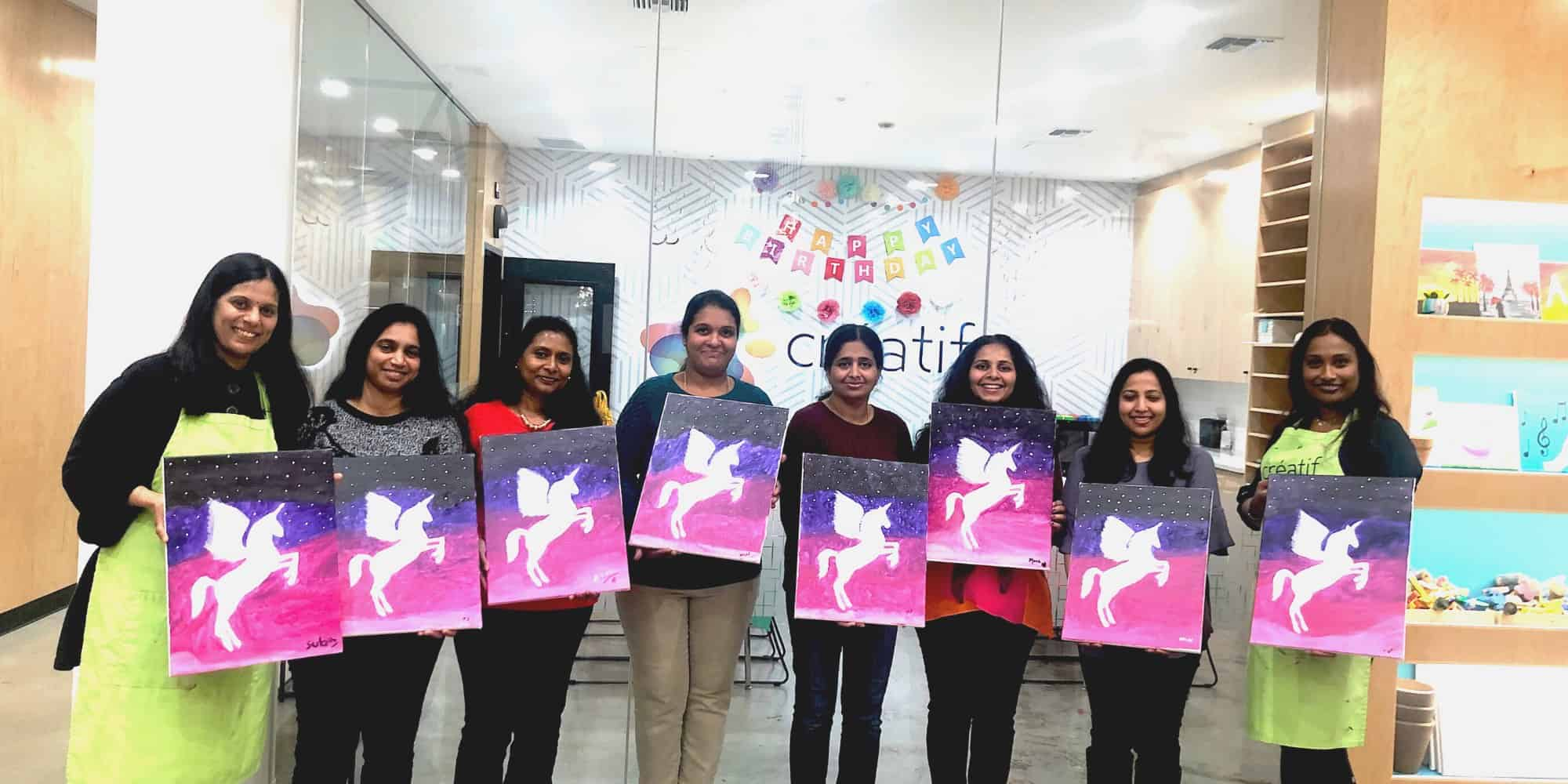Team Building Painting Class